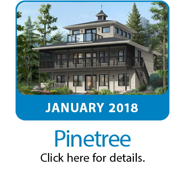 Featured plan of the month the Pinetree