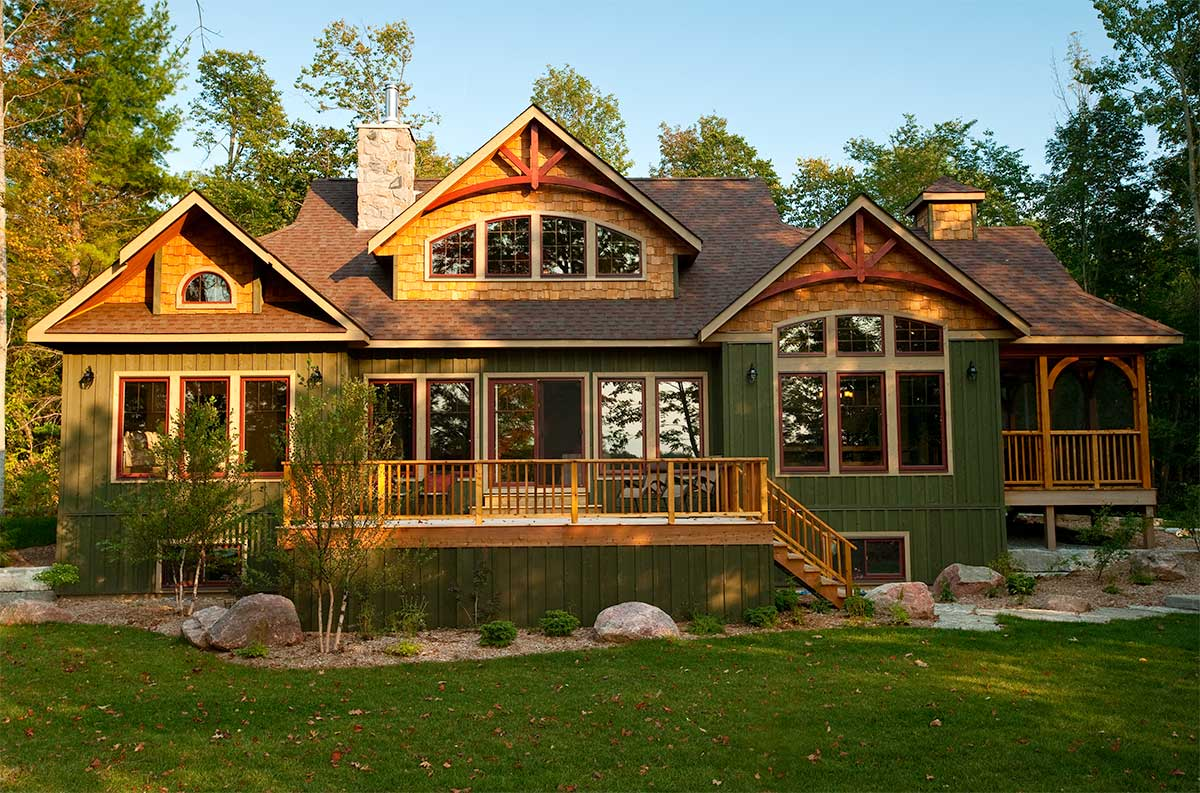 red leaves by Linwood homes