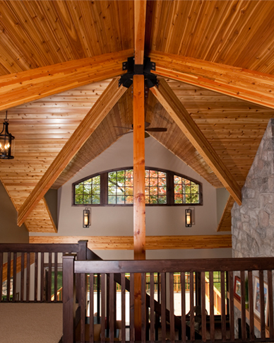 post and beam living