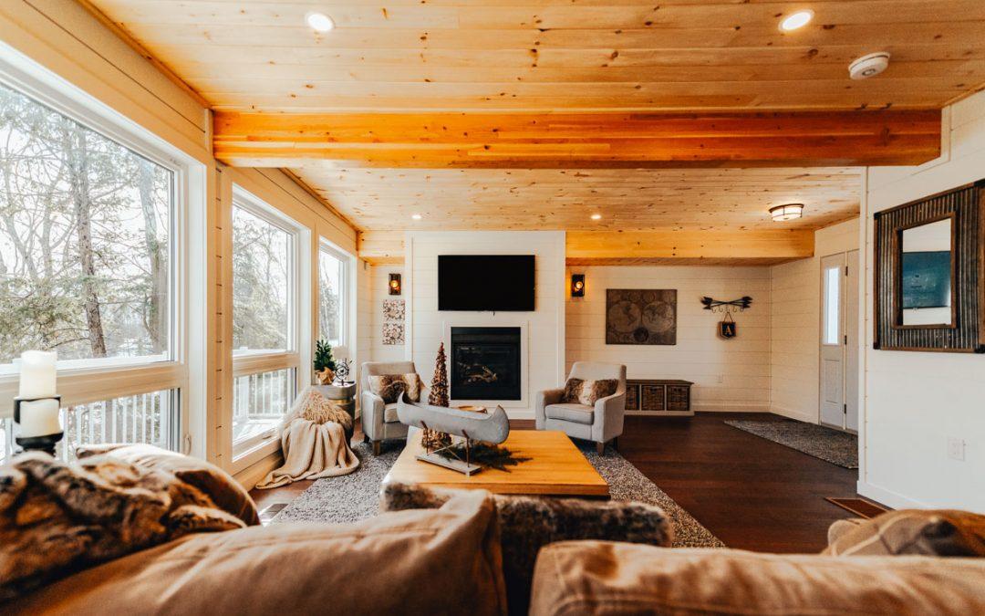 post & beam timber frame