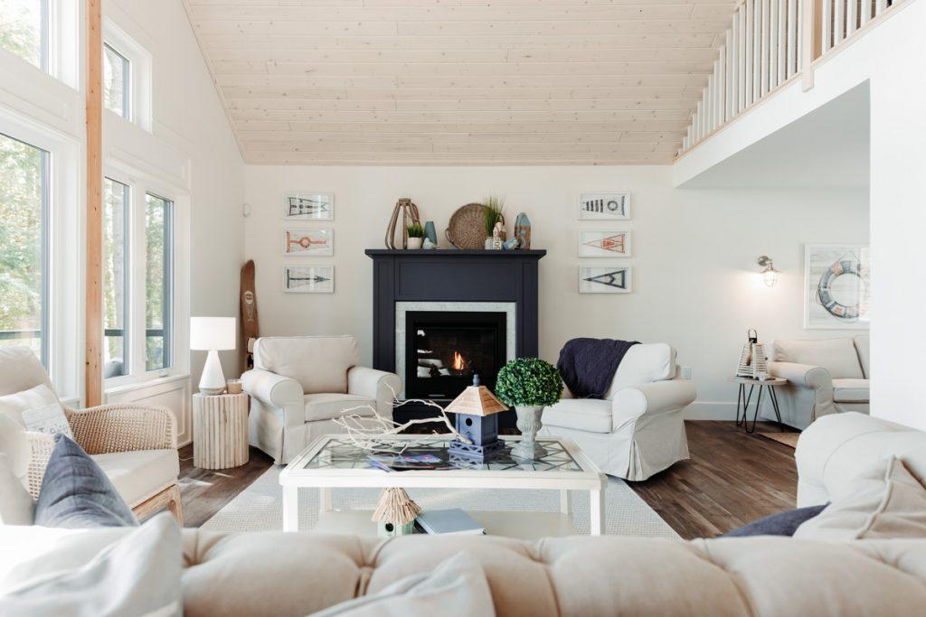 linwood halls glen living room