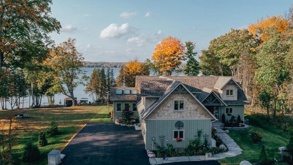 custom cottage linwood homes