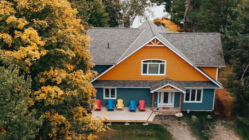 custom cottage lake muskoka