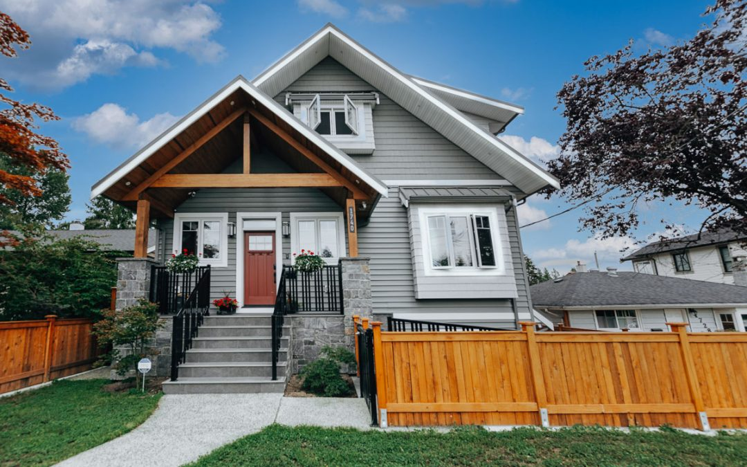 Building a Custom Home and Laneway in North Vancouver, BC